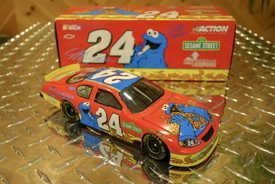 2003年 ACTION 1:24 NASCAR Jeff Gordon `03 Chevy Montecarlo