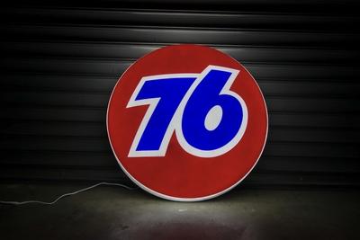 ユニオン76 電気看板