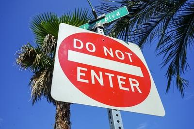 ロードサイン DO NOT ENTER