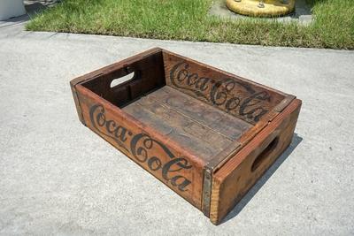 Coca-Cola ウッドクレート