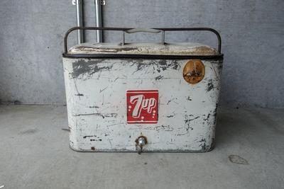 7UP ビンテージクーラーボックス