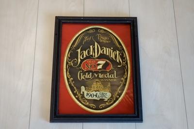 Jack Daniel's パブミラー