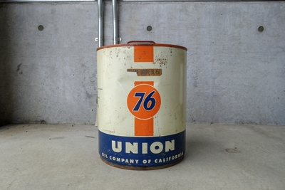 1961年 UNION76 オイル缶