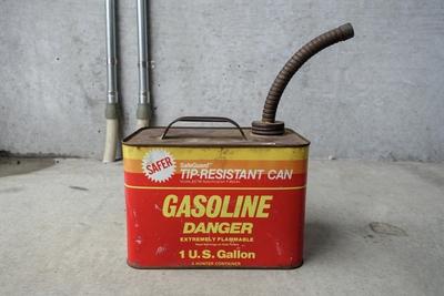 ビンテージ 1ガロン ガソリン缶