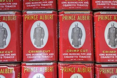 PRINCE ALBLRT ビンテージタバコ缶