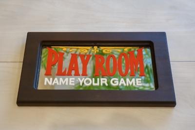PLAY ROOM ビンテージミラーサイン