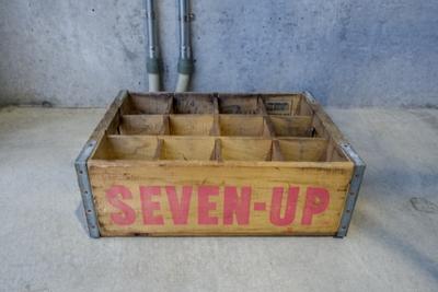 ビンテージ ウッドクレート SEVEN-UP