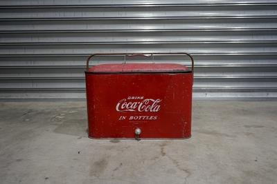 1950's コカコーラクーラーボックス