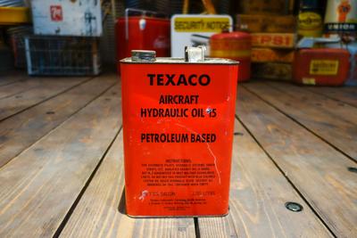TEXACO AIRCRFT HYDRAULIC OIL can