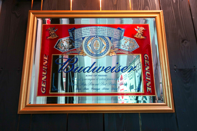 Budweiser パブミラー