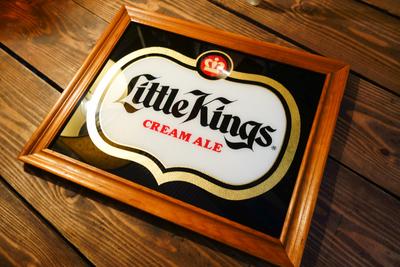 Little Kings ビンテージパブミラー
