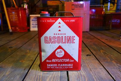 1965年 LA-CAL 2ガロン ガソリン缶