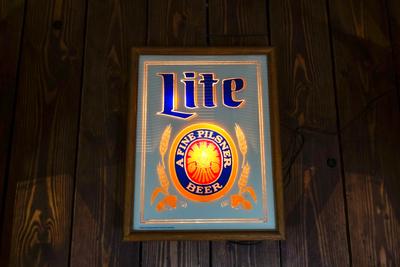Miller Lite ライトサイン