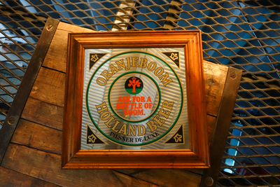 Oranje Boom Beer パプミラー