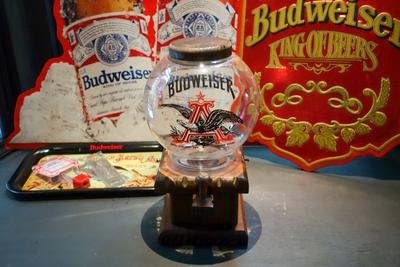 70's Budweiser ナッツディスペンサー