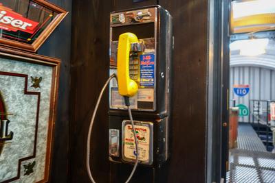 パブリックフォン 公衆電話 イエロー