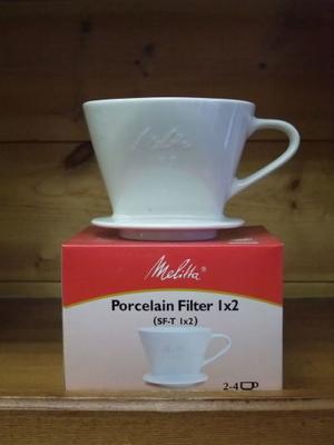 メリタ陶器フィルターSF-T 1×2(2-4杯用)