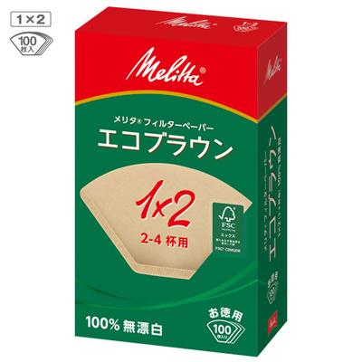 メリタ エコブラウンPF1×2(100枚入り)
