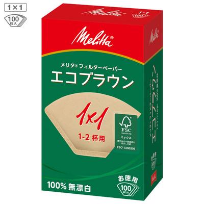 メリタ エコブラウンPF1×1(100枚入り)