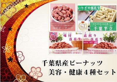 千葉県産ピーナッツ美容・健康4種セット20日分