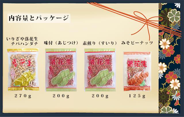 千葉県産ピーナッツ美容・健康4種セット