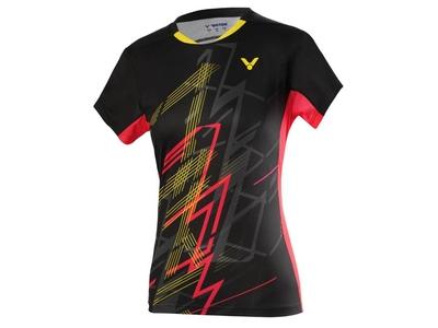 VICTOR T-01004 LADIESゲームシャツ 日本バドミントン連盟公認
