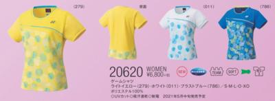 YONEX20620ウィメンズゲームシャツ