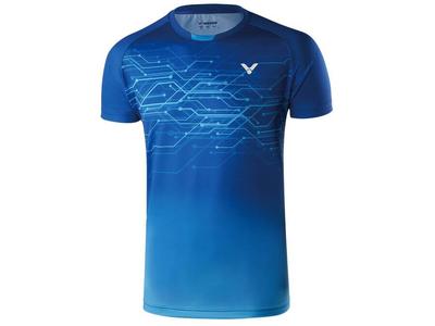 VICTOR T90008 UNIゲームシャツ F(ロイヤルブルー)