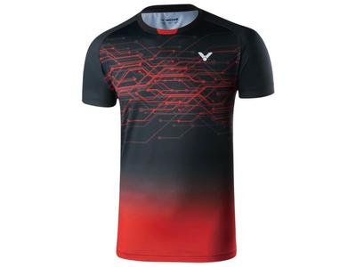 VICTOR T90008 UNIゲームシャツ C(ブラック)