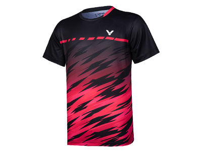 VICTOR T-10008 UNIゲームシャツ 日本バドミントン連盟公認