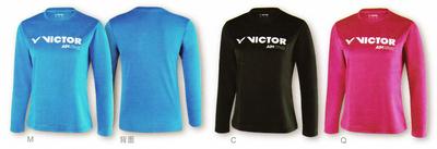 VICTOR T86100 LADIES ロングTシャツ