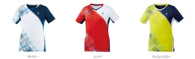 GOSEN【2019年12月発売開始】レディース ゲームシャツ[T2003]