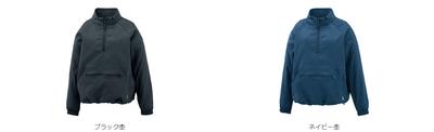 GOSEN【2020年2月発売開始】レディース ハーフジップブルゾン[Y2021]