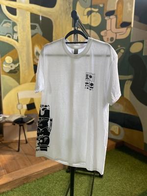 長谷川ホルモンTシャツ「しろ」