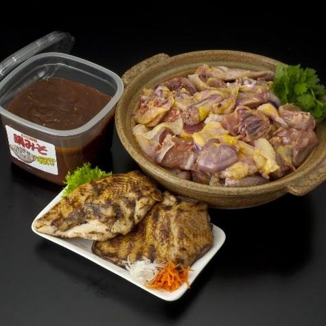 赤親鶏鍋セット(ブツ切り)