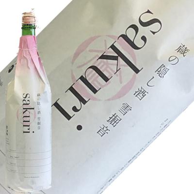 六歌仙 蔵の隠し酒 純米吟醸 sakuri 生酒 1.8L【要冷蔵】