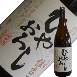 樽平酒造 純米酒 一生住吉 ひやおろし 1.8L【H30BY】