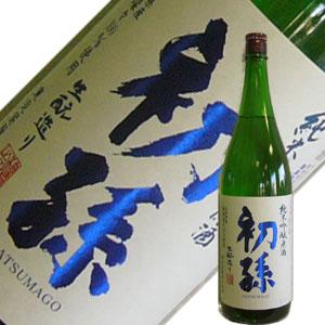 東北銘醸 初孫 純米吟醸 出羽燦々 原酒1.8L