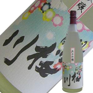 野澤酒造 羽前桜川 純米吟醸 1.8L