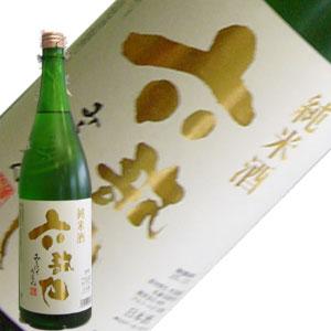 まろやかな味わい!六歌仙 純米酒 1.8L