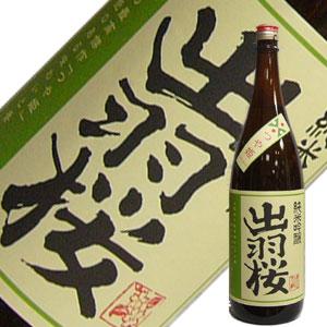 出羽桜酒造 出羽桜 純米吟醸 つや姫 1.8L