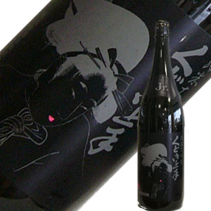 亀の井酒造 くどき上手 純米大吟醸 Jr Black Beauty 29% 1.8L【R1BY】