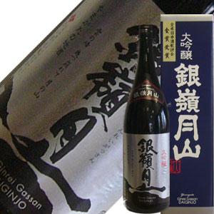 月山酒造 銀嶺月山 大吟醸酒 1.8L