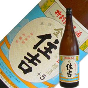 樽平酒造 金住吉 +5 純米酒 1.8L