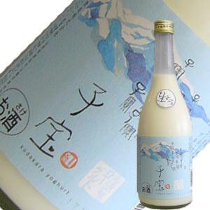 楯の川酒造 子宝 生とろ鳥海山麓ヨーグルト 720ml【要冷蔵】