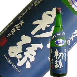 東北銘醸 初孫 純米吟醸 おりがらみ 1.8L【要冷蔵】 【H27BY】