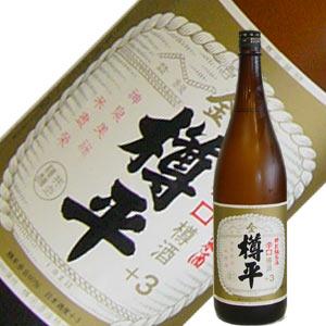 樽平酒造 金樽平 純米酒 +3 1.8L