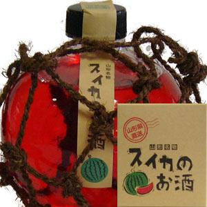 六歌仙 スイカのお酒 【丸瓶】 360ml