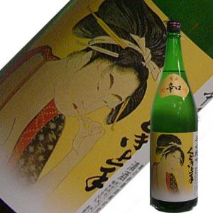 亀の井酒造 くどき上手辛口純吟 1.8L【取扱限定】【定番商品】