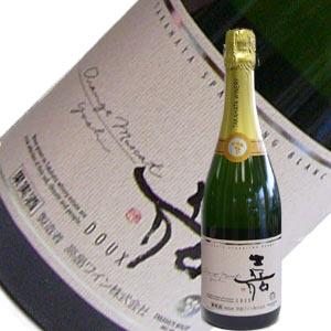 高畠ワイン 嘉yoshi スパークリング・オレンジマスカット 750ml